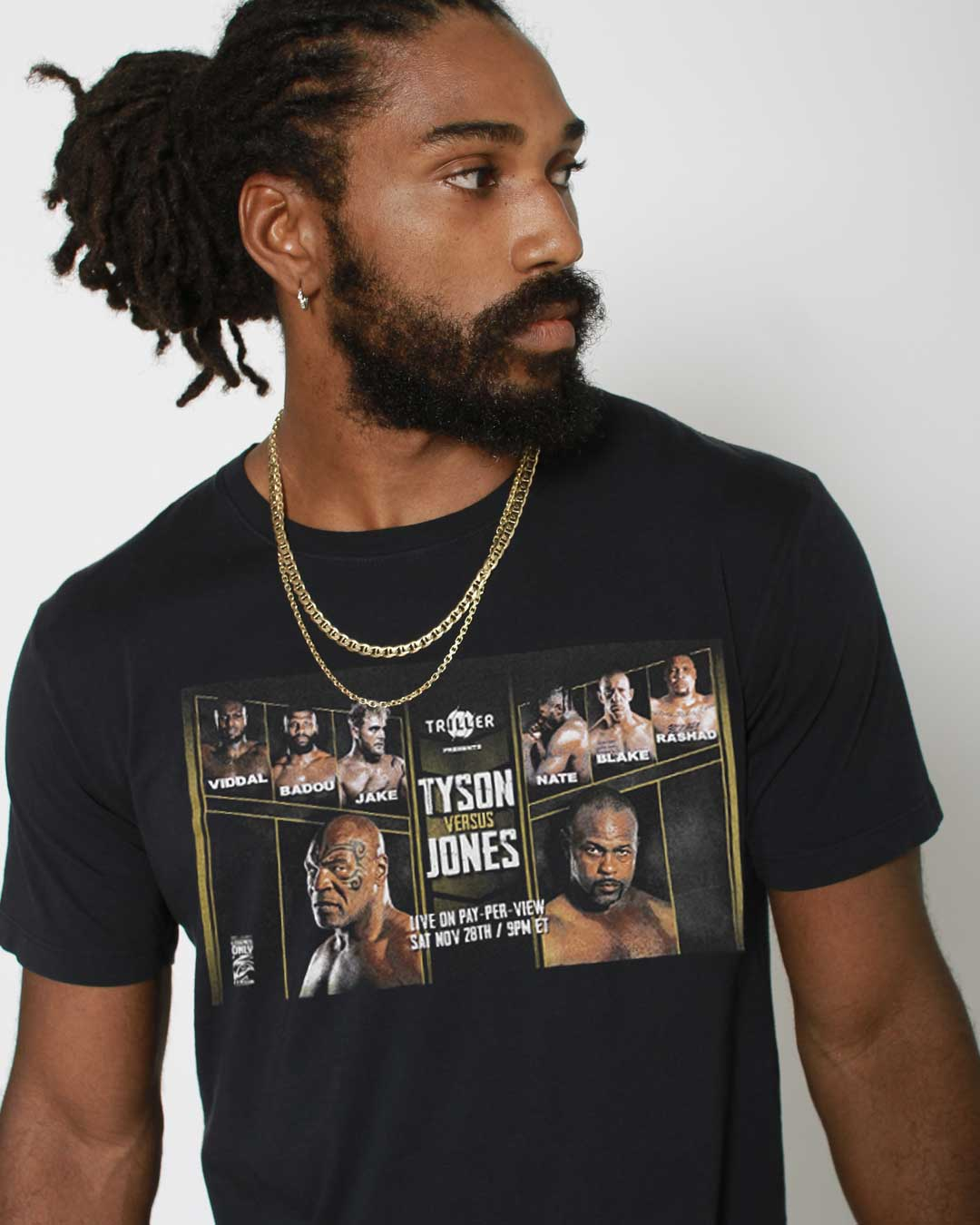 Triller Event Card Photo Tee - Roots of Inc dba Roots of Fight