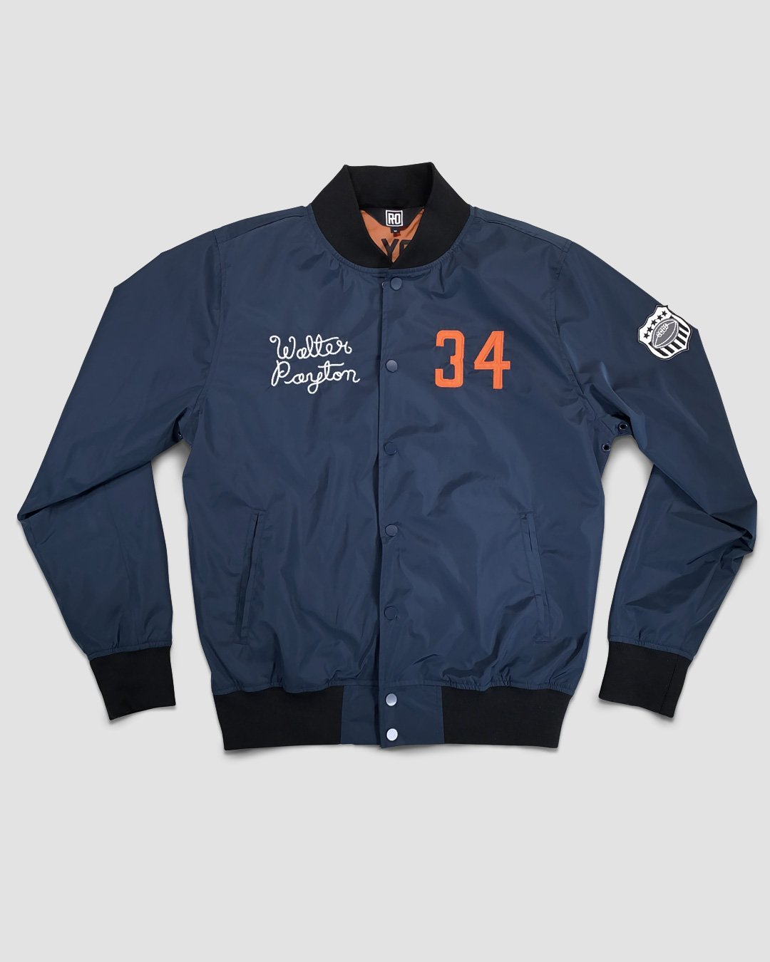 Walter Payton #34 Stadium Jacket - Roots of Inc dba Roots of Fight