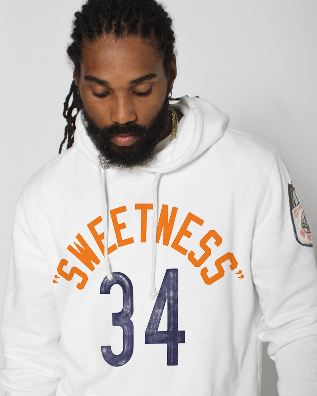 Walter Payton Sweetness #34 Pullover Hoody - Roots of Inc dba Roots of Fight