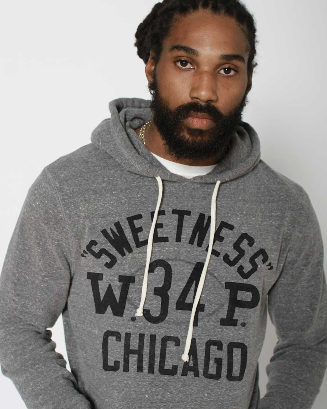 Walter Payton Sweetness Pullover Hoody - Roots of Inc dba Roots of Fight