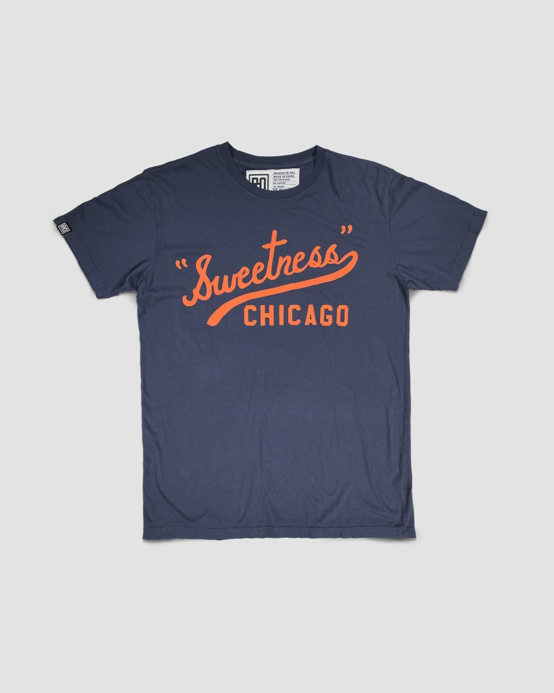 Walter Payton Sweetness Script Tee - Roots of Inc dba Roots of Fight