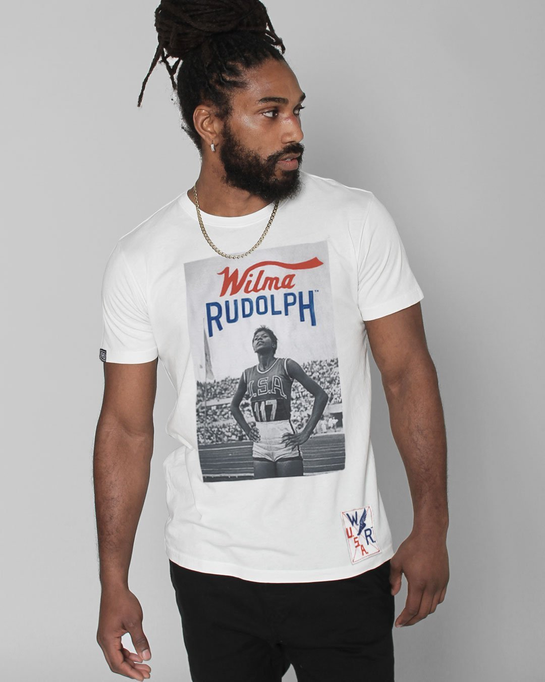 Wilma Rudolph Photo Tee - Roots of Inc dba Roots of Fight