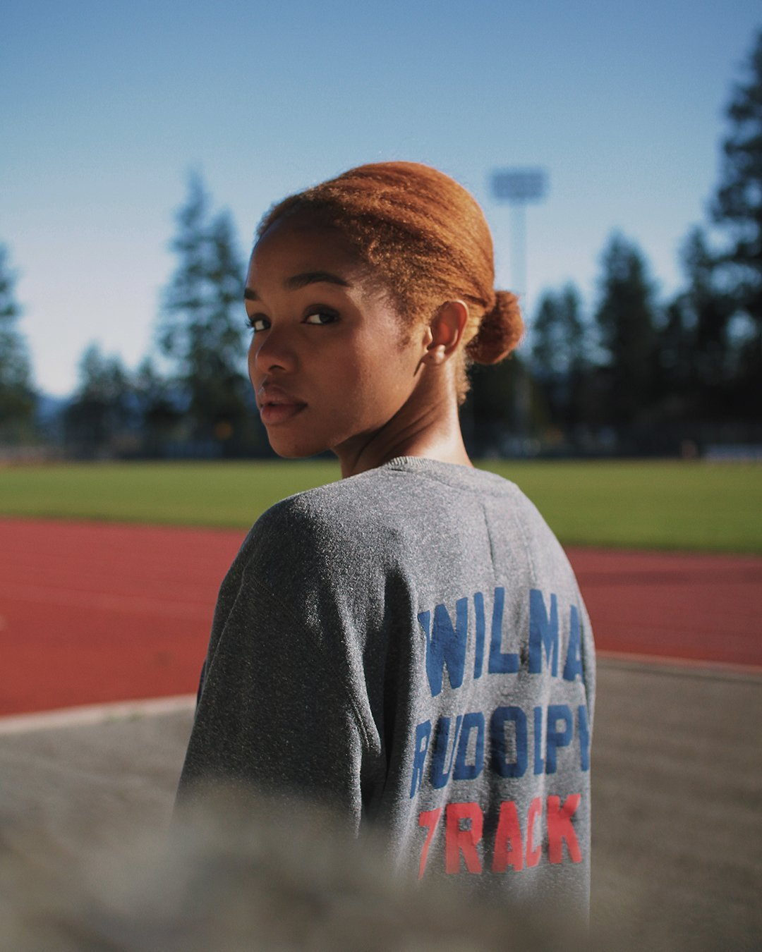 Wilma Rudolph USA Track Sweatshirt - Roots of Inc dba Roots of Fight