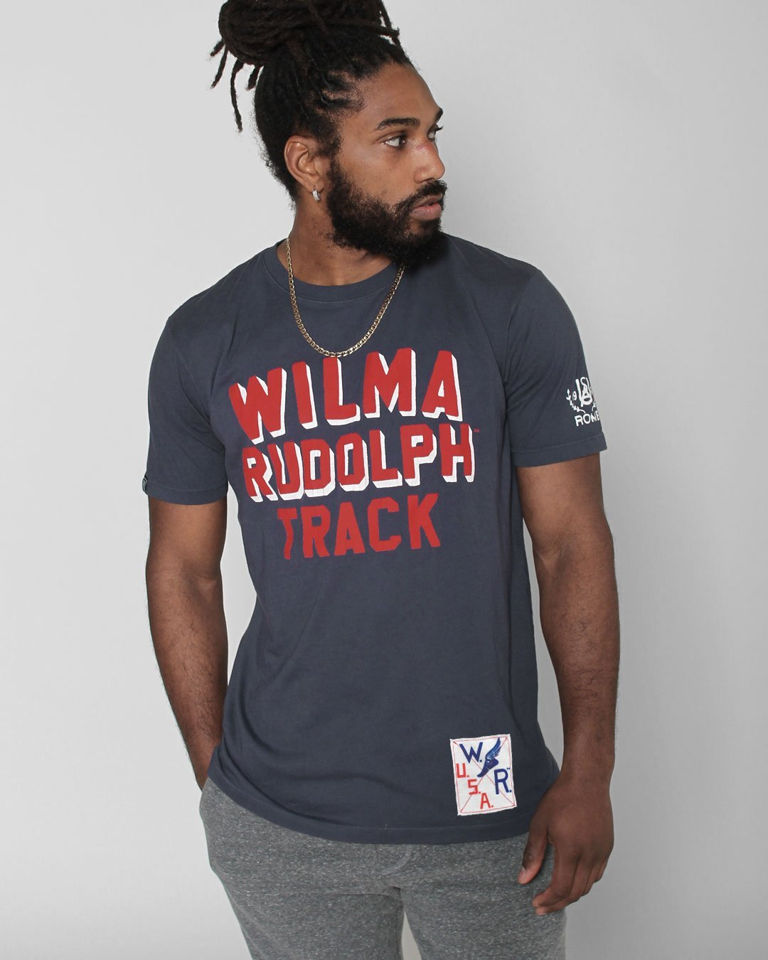 Wilma Rudolph USA Track Tee - Roots of Inc dba Roots of Fight