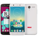RCA Q1 4G LTE, 16GB, Unlocked Dual SIM Cell Phone, Android 6.0 - White
