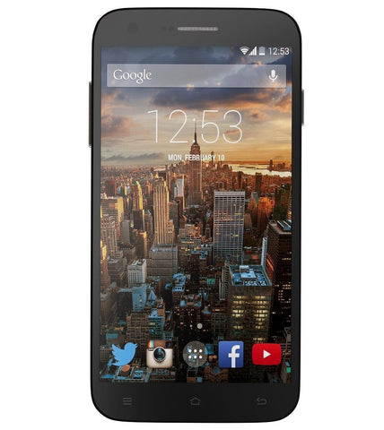 "RCA G1 5.5""HD, Unlocked Dual SIM, 8MP Camera, 8GB ROM, 1GB RAM, Android 4.4 -Black"