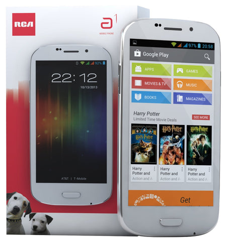 RCA A1 Unlocked Phone (White)