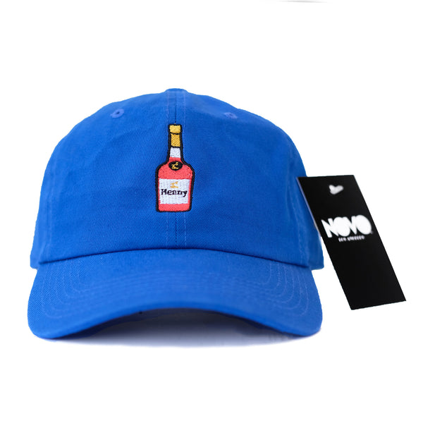 Henny Dad Hat - Vibrant Blue In Twilled Cotton