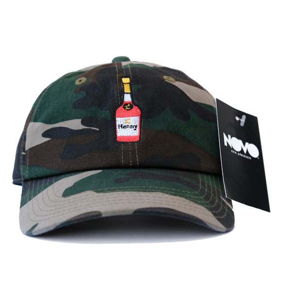 Henny Dad Hat - Camo In Twilled Cotton
