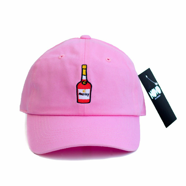 Henny Dad Hat - Pink In Twilled Cotton