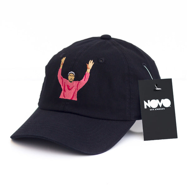 Kanye at Madison Square Garden Dad Hat - Black In Twilled Cotton