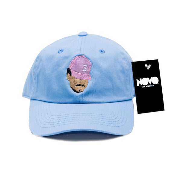 Chance The Rapper Dad Hat - Baby Blue In Twilled Cotton de3e803821b8