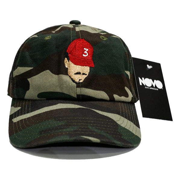 Chance The Rapper Dad Hat - Camouflage In Twilled Cotton 5b5672cd329c