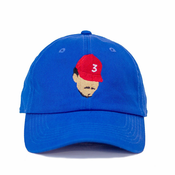 Chance The Rapper Dad Hat - Vibrant Blue In Twilled Cotton