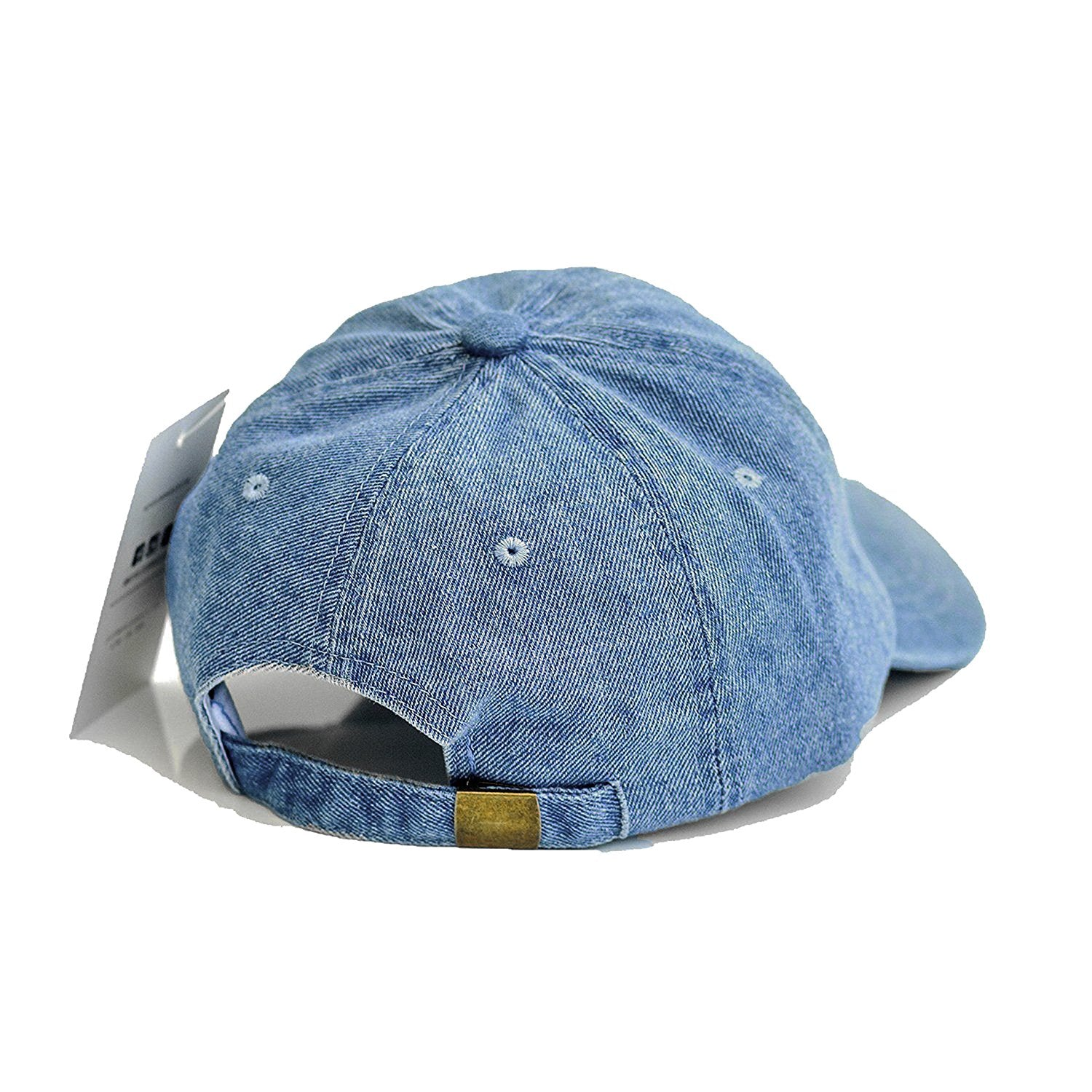 Chance The Rapper Dad Hat - Mid-Wash Denim with Salmon Hat ... ce1194cb4d95