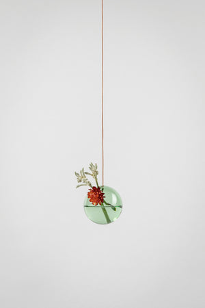 HANGING FLOWER/PLANT BUBBLE - GRØN (small)