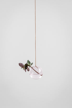 HANGING FLOWER/PLANT BUBBLES - ROSA (small)