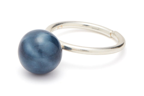 RING - PEARL - TWILIGHT BLUE