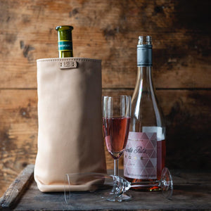 WINE COOLER BAG - LÆDER