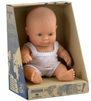 MINILAND Anatomically Correct Baby Girl Caucasian 21cm
