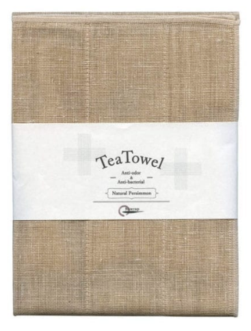 NAWRAP Natural Persimmon Tea Towel