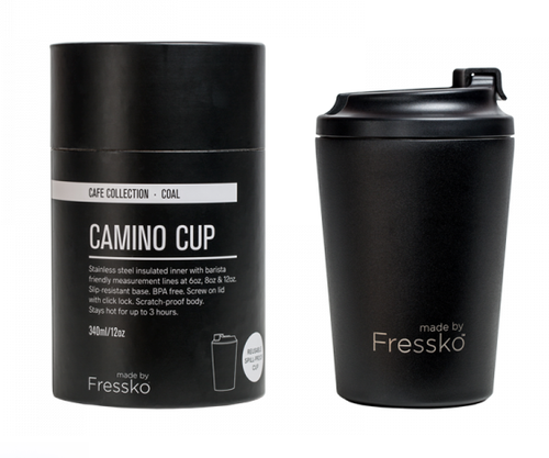 FRESSKO S/Steel Coffee Cup 340ml