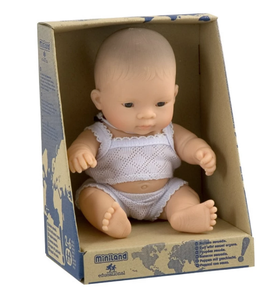 MINILAND Anatomically Correct Baby Girl Asian 21cm