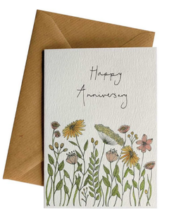 LITTLE DIFFERENCE CARD Anniversary Flowers