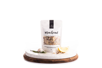 PEPPER & ME Man Grind  Salt Blend 120gm Bag