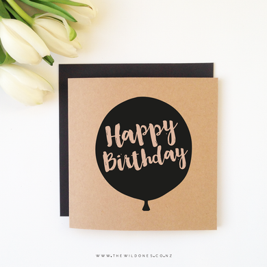 THE WILD ONES CARD- Happy Birthday