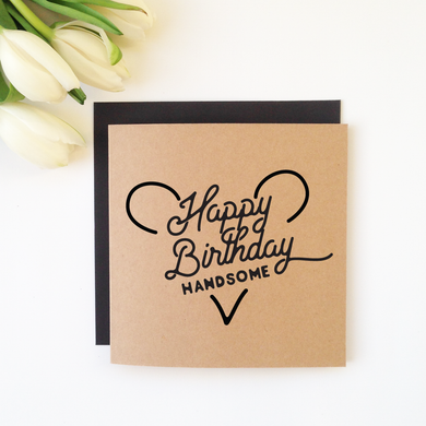 THE WILD ONES CARD- Happy Birthday Handsome
