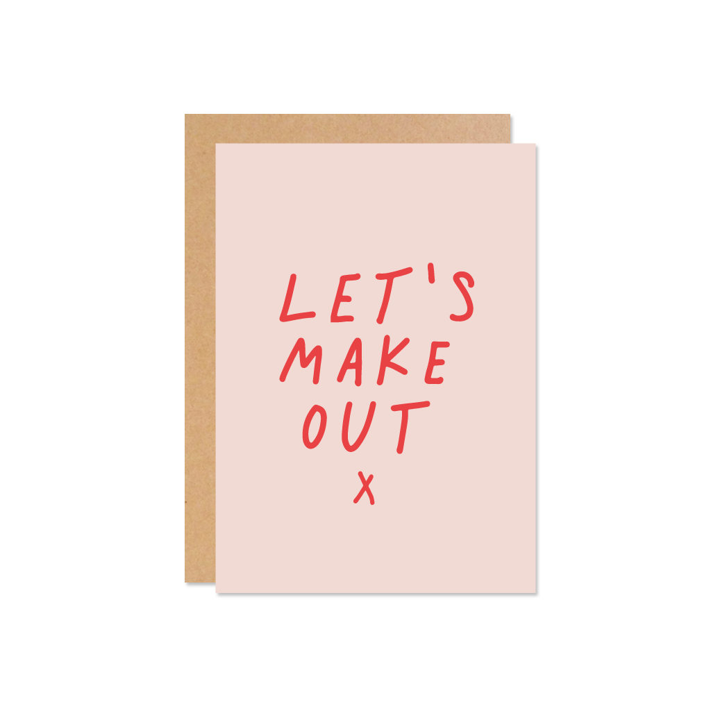 THE WILD ONES Lets Make Out Card