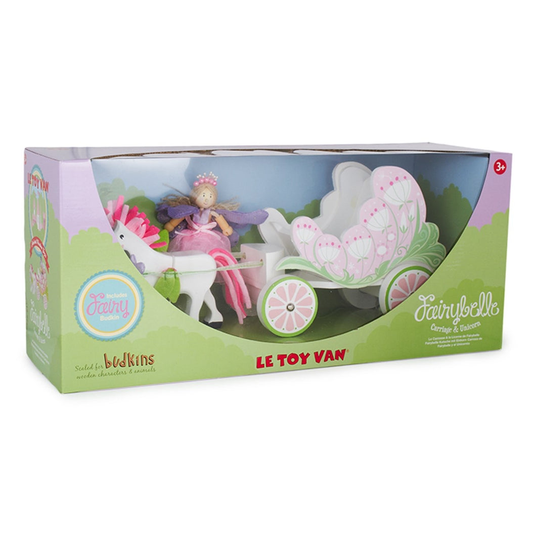 LETOYVAN Fairy Carriage & Unicorn