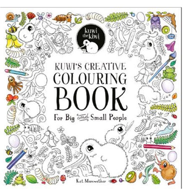 KUWI THE KIWI  Colouring Book