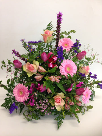 Arrangement in Pinks