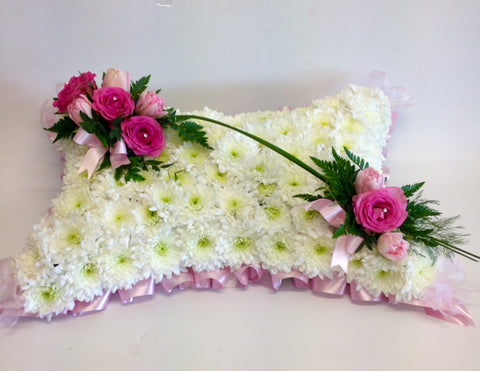 The Rose Crown Pillow - 3 Sizes