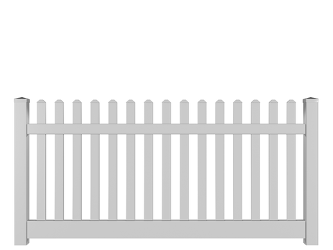 White Picket Fence for Christmas tree
