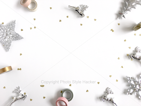 Stunning Christmas themed style photography free for commercial use. Created by Shah Bahpyu from https://lilspaces.com