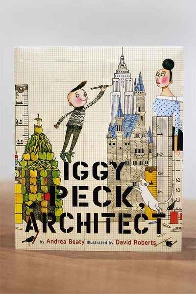 Childrens book Iggy Peck architect cover