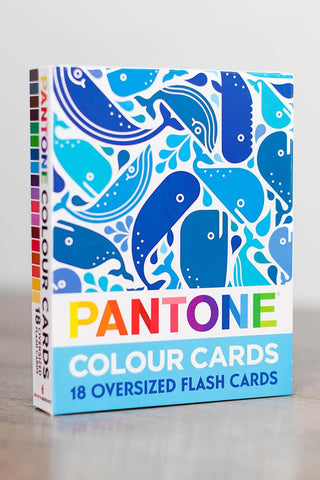 Kids Pantone colour cards cover