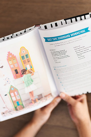 Kids craft book Playful spread B