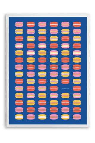 Kids poster macarons, colorful kids poster,