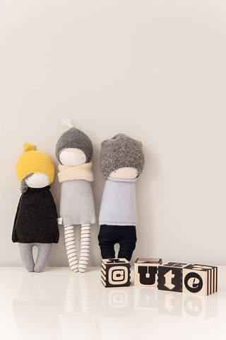 plush toy handmade, stylish fabric doll, cute doll
