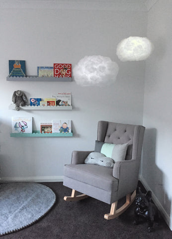 Cloud light - add a touch of magic to a nursery or kids room