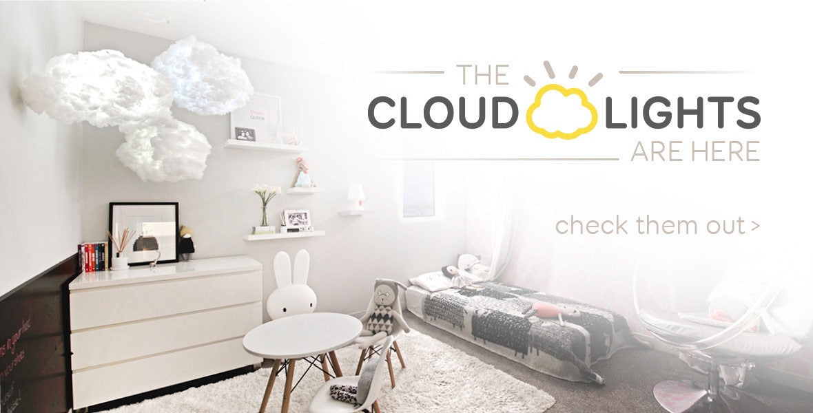 The cloud lights are here. Check them out