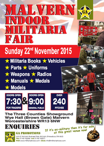 Great Malvern International Military Convention - 22 November 2015