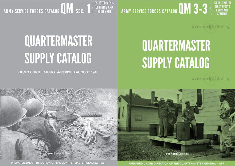 Quartermaster Supply Catalog Bundle (QM1 & QM3-3)