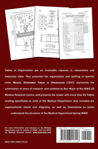 Medical Department Tables of Organization - 1943