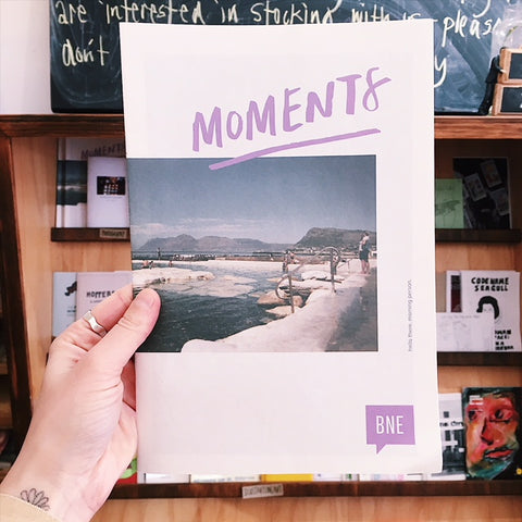 'Moments' Zine (Creative Mornings Brisbane)