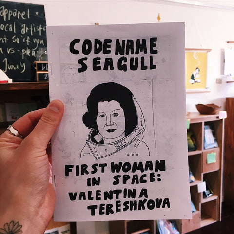'First Woman In Space: Valentina Tereshkova' Zine